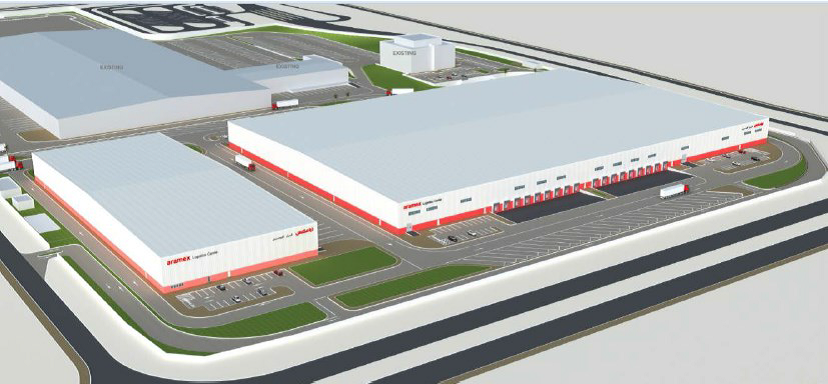 Perspective Drawing of Aramex DLC Expansion