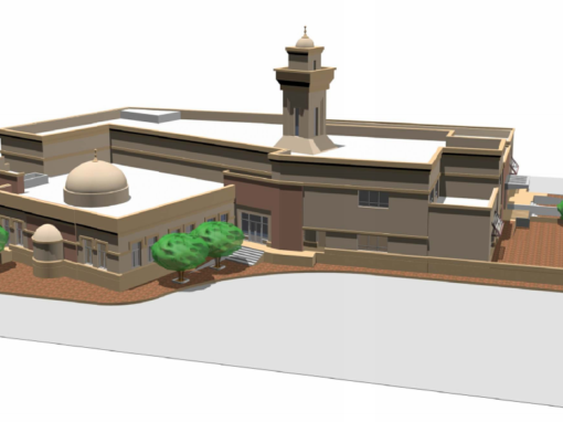 Mosque at ADNOC Ruwais Housing Complex Expansion