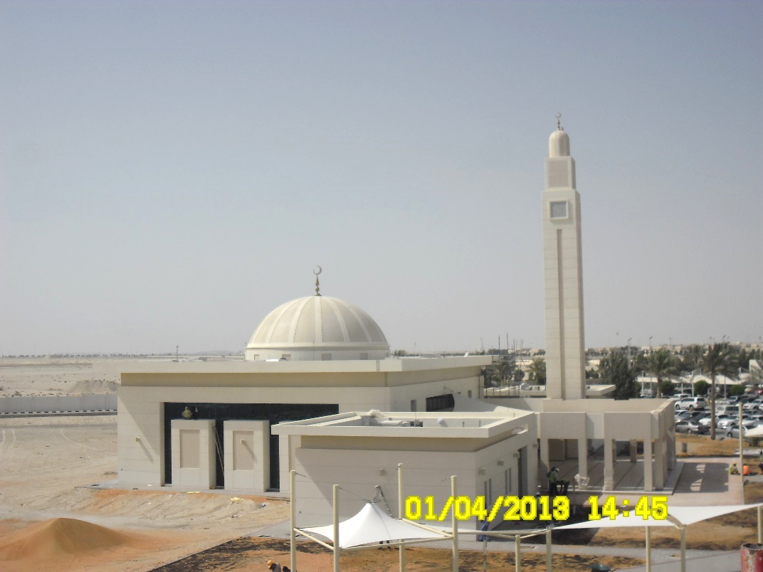 Perspective Drawing of Mosque at ADNOC Technical Institute