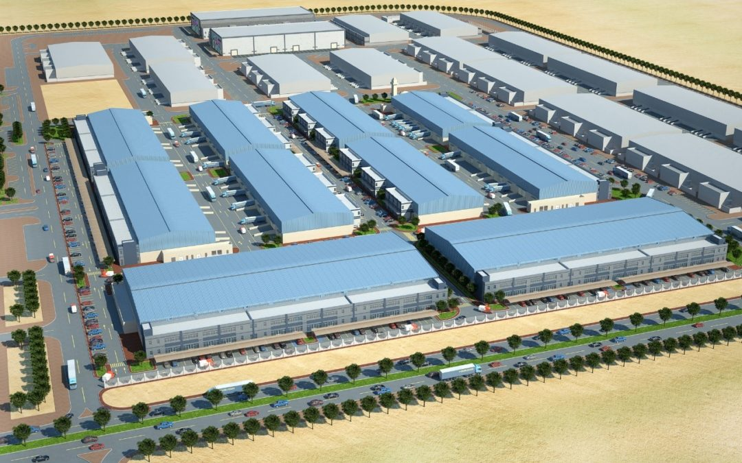 Six Warehouses & Mosque for Abu Dhabi Business Hub