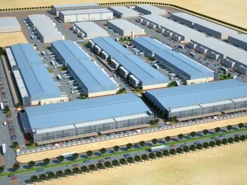 Six Warehouses & Mosque for Abu Dhabi Business Hub