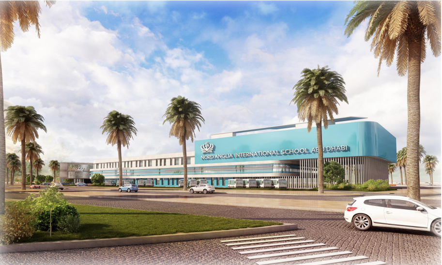 Perspective Drawing of Nord Anglia International School Abu Dhabi